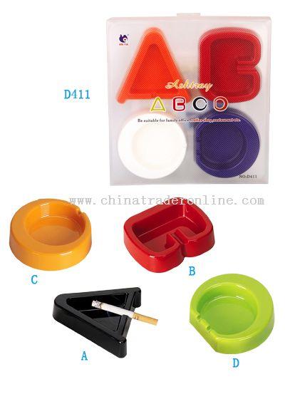 ABCD 4PC Ashtray Set