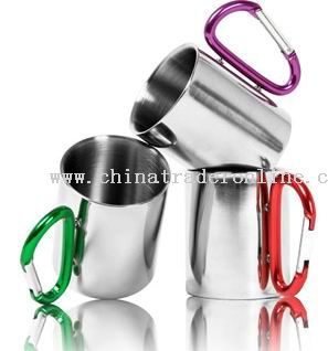 COFFEE MUG with Carabiner handle