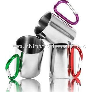 COFFEE MUG with Carabiner handle from China