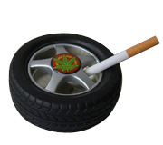 Wheel Ashtray