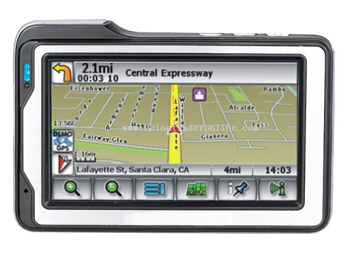 4.3 TFT touch-display Navigation / GPS