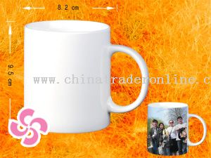Bone china coating mug