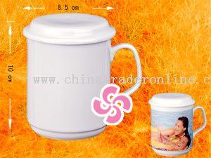 Bone china coating mug