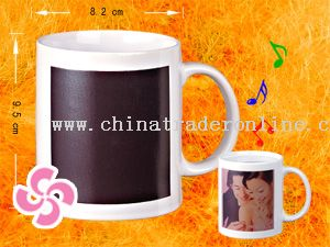 Music color changing mug