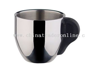 18/8 stainless steel coffee cup