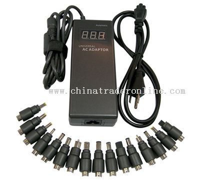 120W Universal AC Adapter for Laptop with LED and 16 Connectors