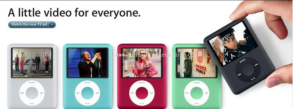 3rd Gen.Ipod Nano style Mp4 player