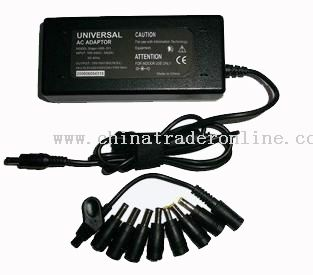 70W Universal AC Adapter for Laptop with 8 Connectors