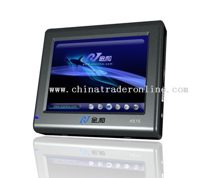 3.5 Touch Screen GPS Navigation