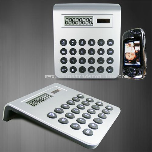 8 digits calculator true solar power