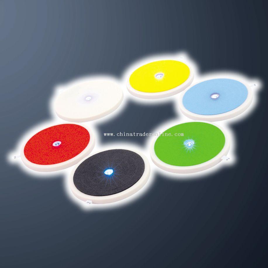 Disposable LED Coaster