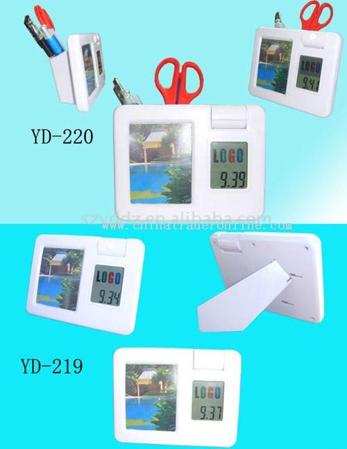 LCD Photo Frame with Book Light