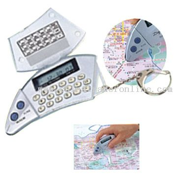 Map Measurers with Calculator