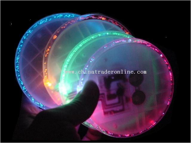 Neon Coaster with Bubble ring