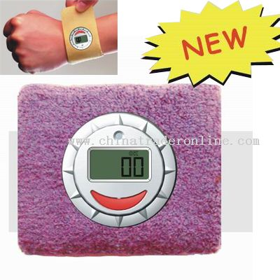 Wrist Supporter Digital UV Meter