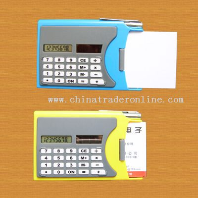 name card calculator from China