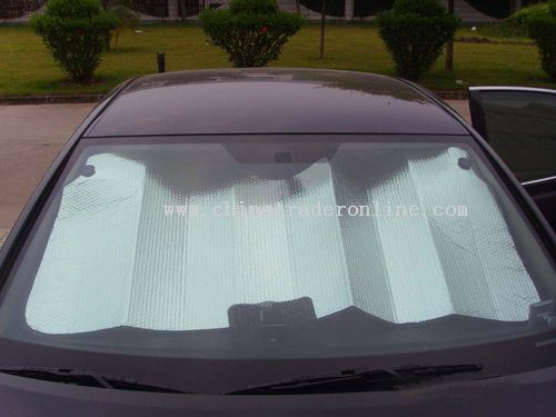 Front window car sun shade