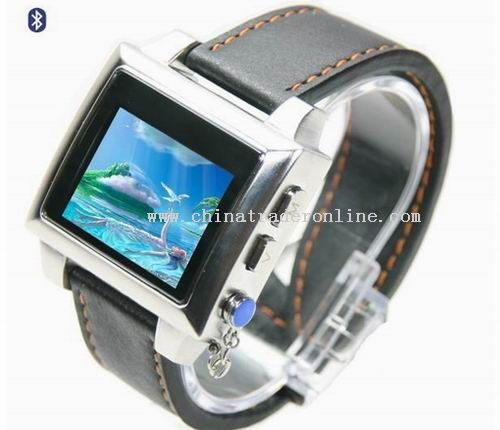 1.5 TFT Bluetooth MP4 Watch from China