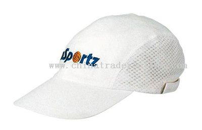 Brushed Cotton Mesh Sports Cap