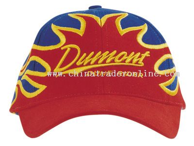 Cap With Flames