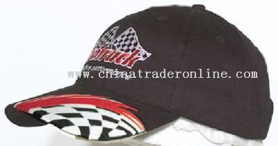 Cap with Swoosh and Check