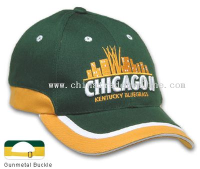 Cotton Twill Cap with Sandwich