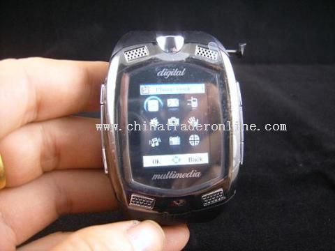 Male Design Mobile Phone Watch