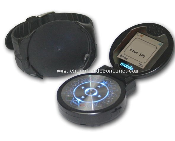Two Screen Cell Phone Watch