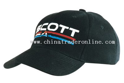 brushed cotton promotional baseball cap