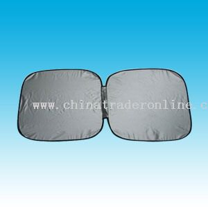 Car Sunshade-Silver Nylon