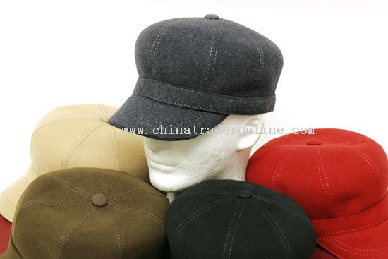 100% Wool Fashion Cap