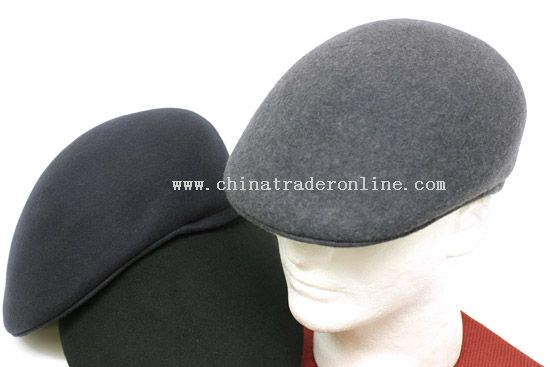 100% Wool Peaked Caps