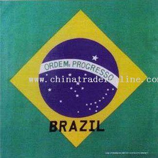 Brazil Flag Bandanas
