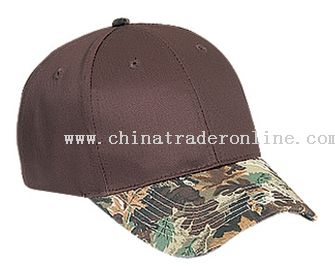 Camouflage Visor Cotton Twill Low Profile Pro Syle Caps