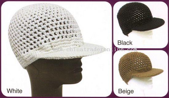 Crochet Baseball Caps