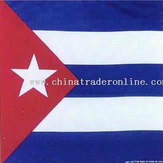Cuba Flag Bandanas