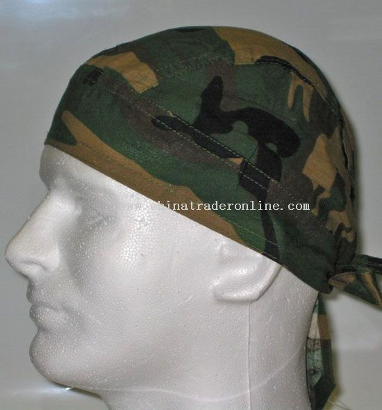 Dark Camo Head Wrap