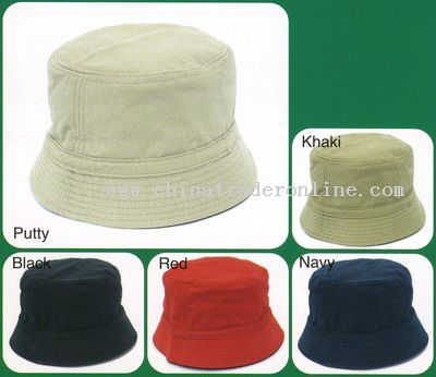 Flat Top Bucket Hats