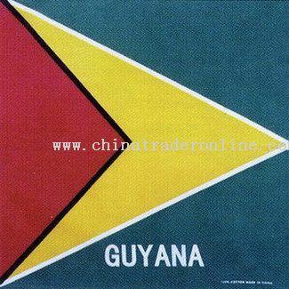 Guyana Flag Bandanas