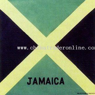 Jamaica Flag Bandanas