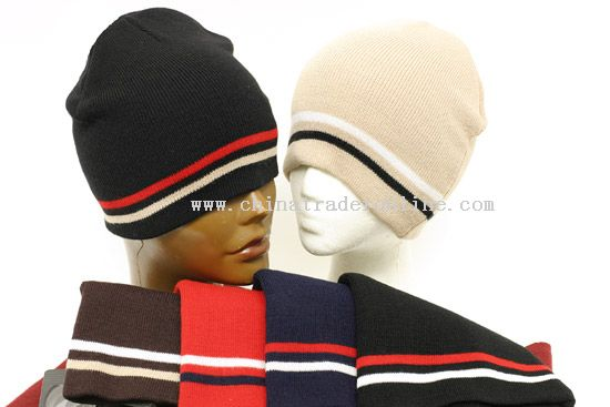 Multicolor Beanie Cap from China