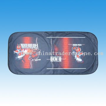 Non-woven Sunshade-full color printing