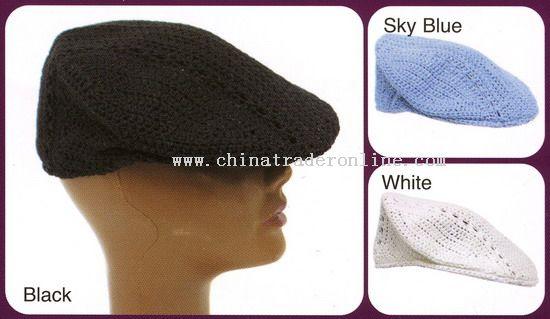 Peaked Crochet Hats