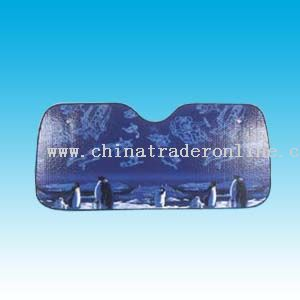 Printed FE Bubble Car Sunshade
