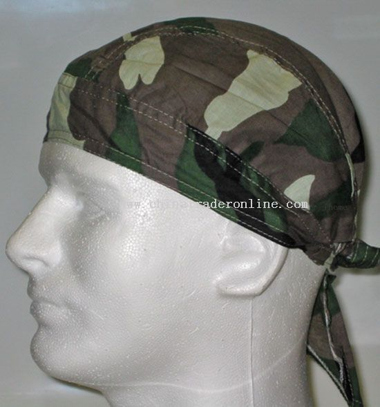 Regular Camouflage Head Wrap