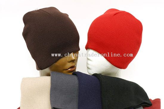 Solid Color Beanie Cap