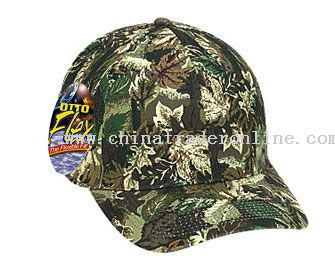 Stretchable Camouflage Cotton Twill Otto Flex Low Profile Pro Style Caps
