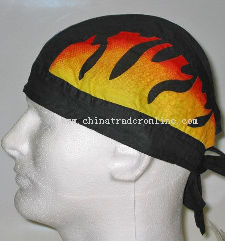 Two Side Flames Head Wrap
