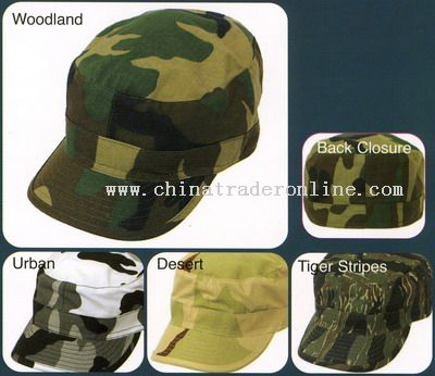 Camouflage Army Caps