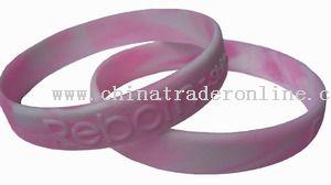 Embossed bracelet